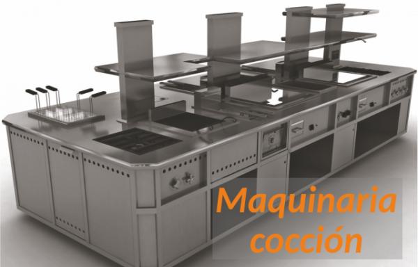 Maquinaria de cocción