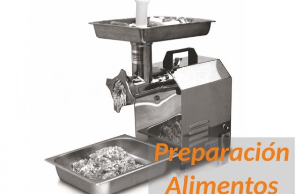 Maquinaria preparación de alimentos