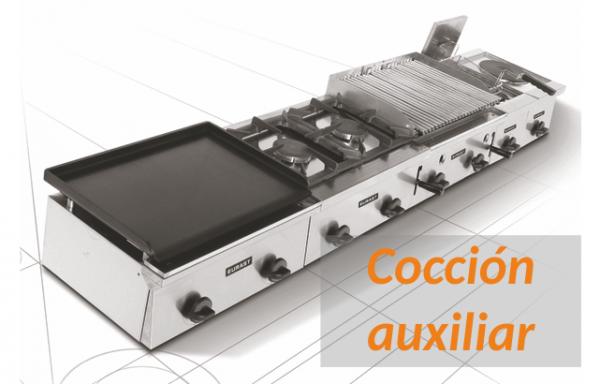 Maquinaria de cocción auxiliar